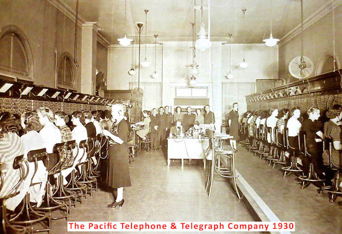 The Pacific Telephone & telegraph Company