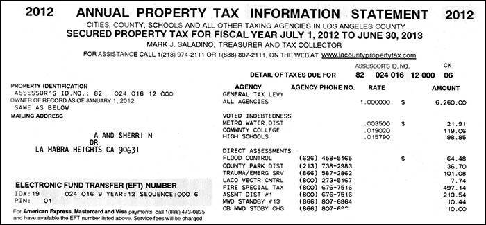 Los Angeles County Property Tax